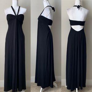Victoria's Secret black maxi dress